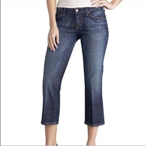 Citizens Of Humanity Kelly Low Waist Crop SZ 29